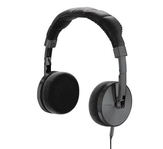 Nixon Nomadic Headphones (Gunmetal)