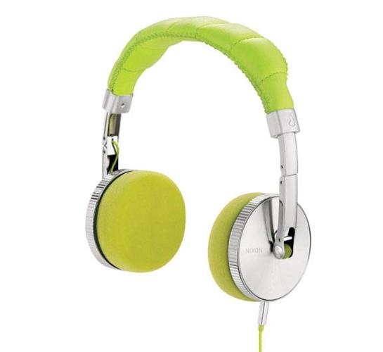 Nixon Nomadic Headphones (Lime)