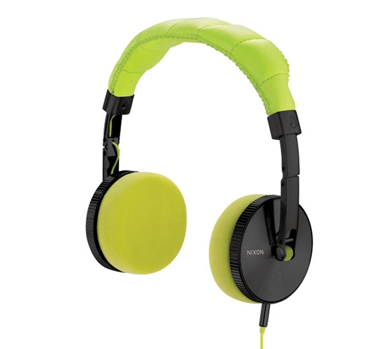 Nixon Nomadic Headphones (Black/Lime)