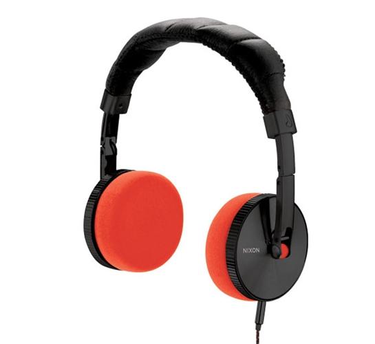 Nixon Nomadic Headphones (Black/Orange)