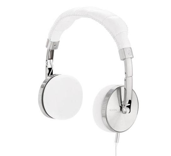 Nixon Nomadic Headphones (White)