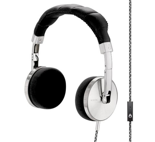 Nixon Nomadic Mic Headphones (Black)
