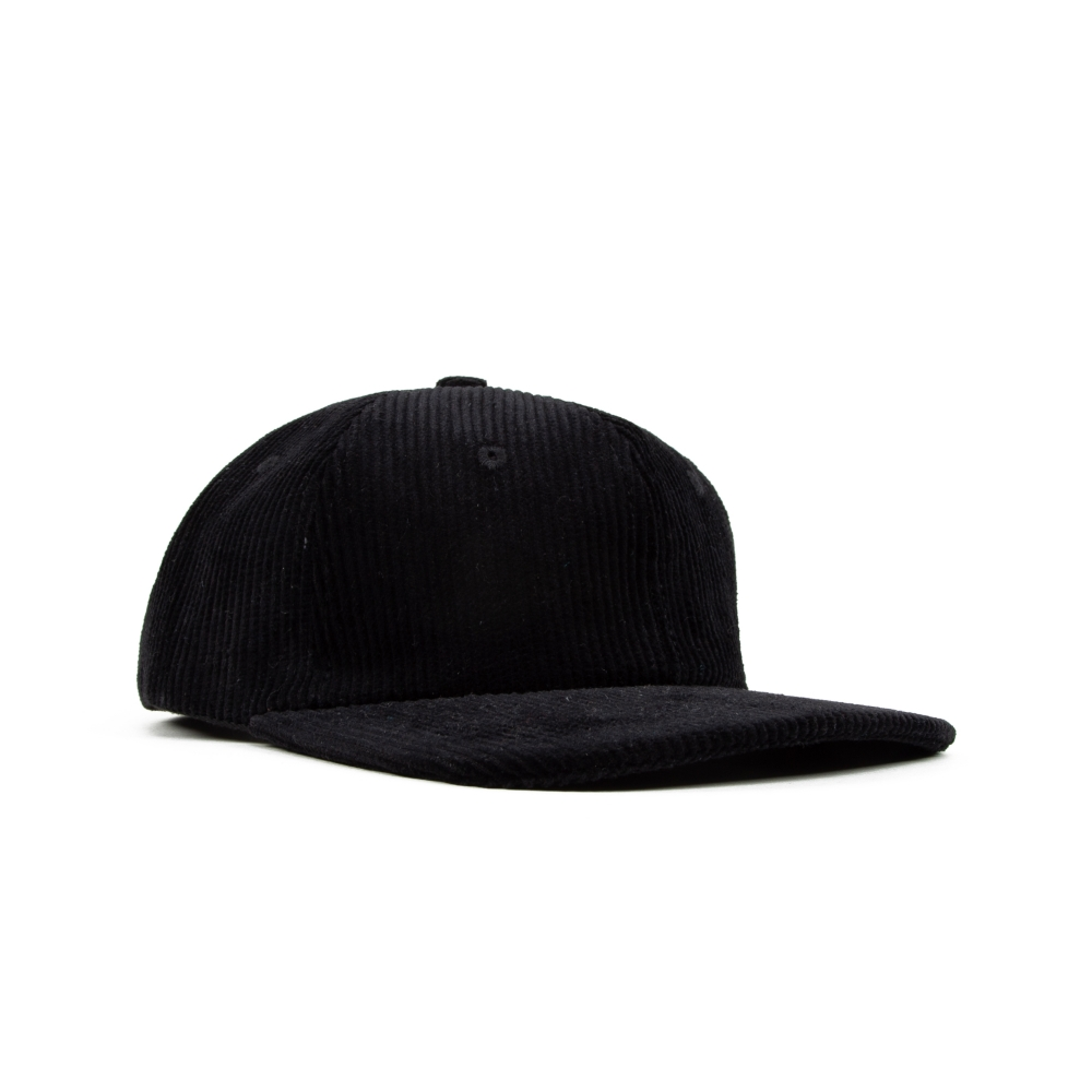 North Corduroy Cap (Black)