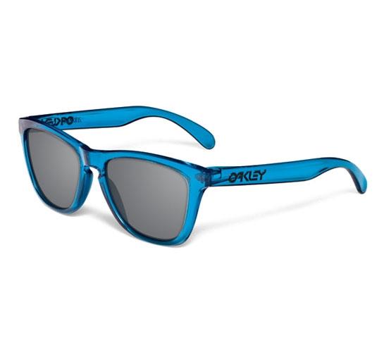 Oakley Frogskins (Acid Blue/Grey)