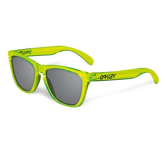 Oakley Frogskins (Acid Green/Grey)