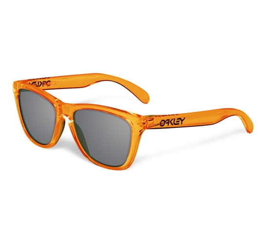 Oakley Frogskins (Acid Orange/Grey)