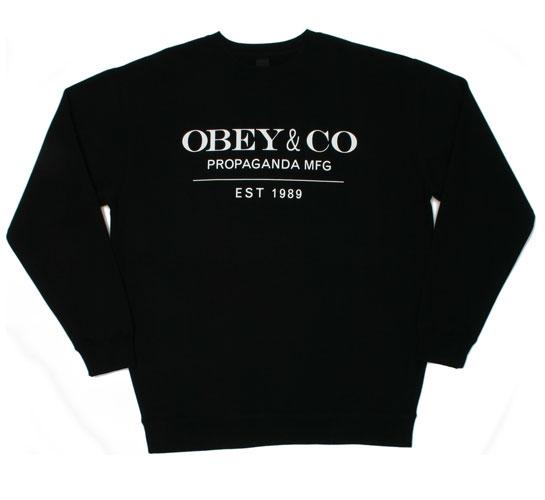 Obey Men's Sweatshirt - Obey & Co. (Black)