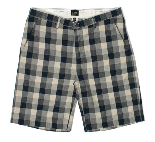 Obey Men's Shorts - Dime Piece (Navy)