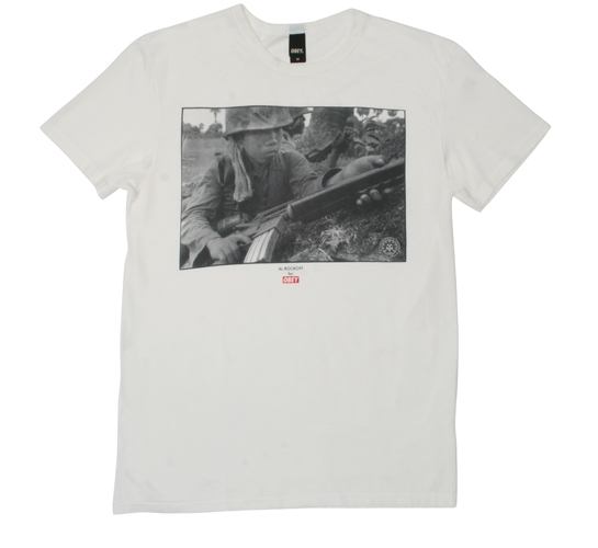 Obey Men's T-Shirt - Duality Of Youth (Light Grey)