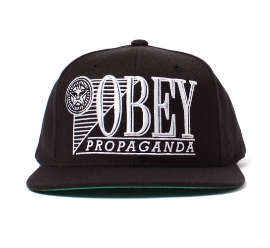 Obey Men's Hat - Original Gangsta (Black)