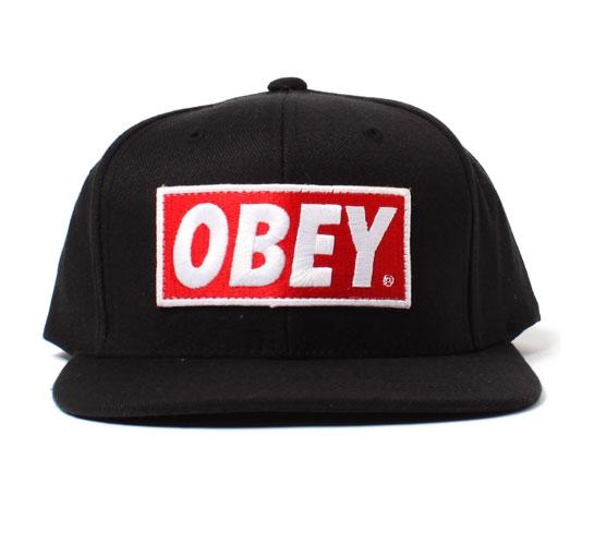 Obey Men's Hat - Original (Black)
