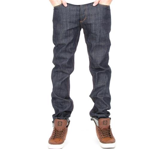 Obey Men's Jeans - New Threat (Raw Indigo)