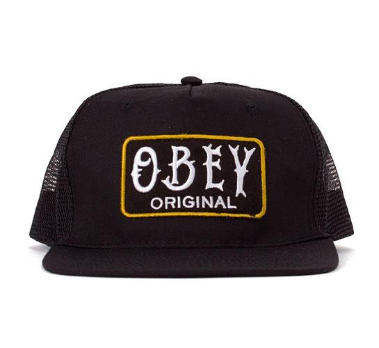 Obey Local Brew Trucker Cap (Black)