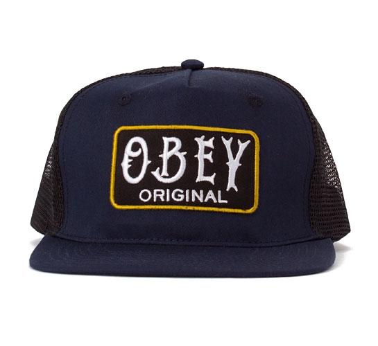 Obey Local Brew Trucker Cap (Navy)