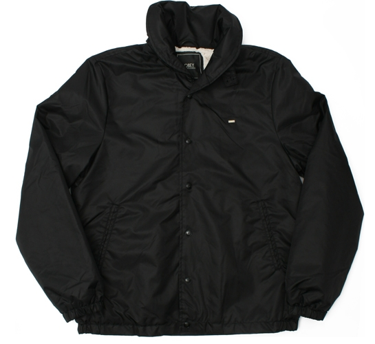 Obey Men's Jacket - Never Ever (Black)