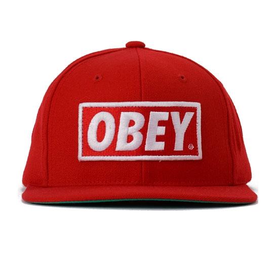 Obey Men's Hat - Original (Red)
