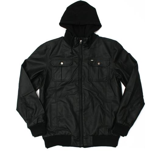 Obey Men's Jacket - Rapture (Black)