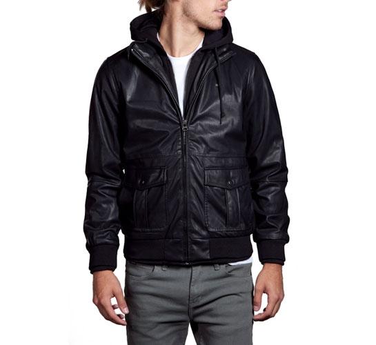 Obey Men's Jacket - Rapture Bomber (Black)