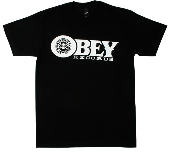 Obey Men's T-Shirt - Obey Rec. (Black)