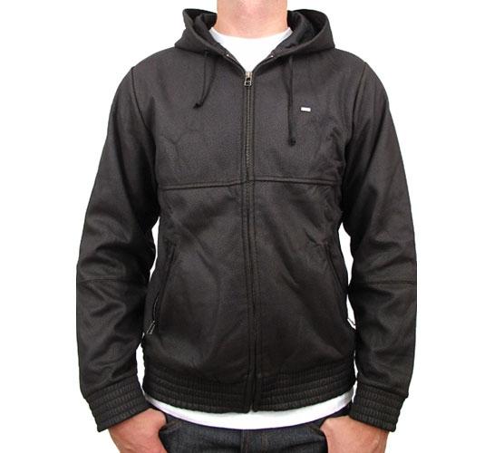 Obey Men's Sweatshirt - Obey Silent Shout Zip Hood (Black)