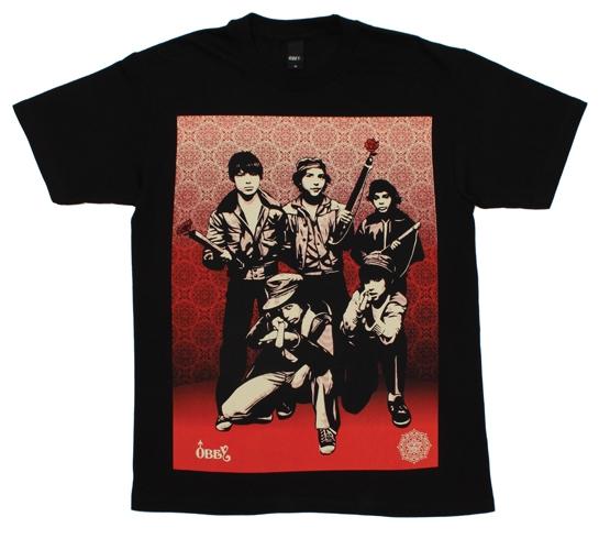 Obey Men's T-Shirt - Defiant Youth (Black)