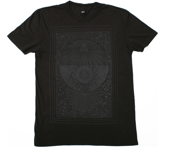 Obey Men's T-Shirt - Wander Vision (Graphite)