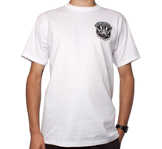 Obey Bomb Crest T-Shirt (White)