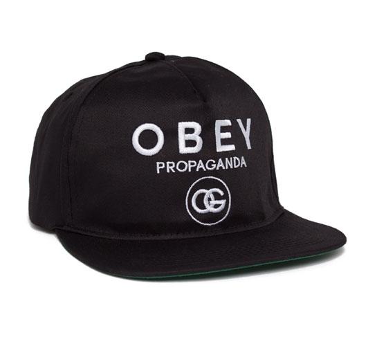 Obey Coco Snapback Cap (Black)