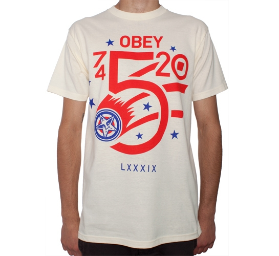 Obey Comet T-Shirt (Natural)