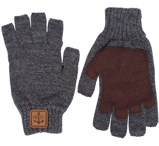 Obey Explorer Gloves (Heather Grey)