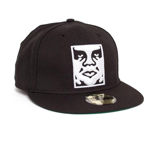 Obey Icon New Era Cap (Black)