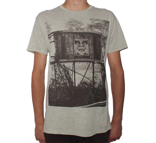 Obey In The Jungle T-Shirt (Silver)