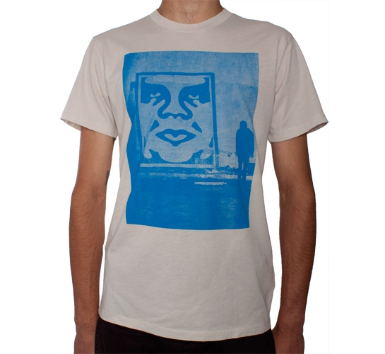 Obey In The Shadows T-Shirt (Heather Stone)
