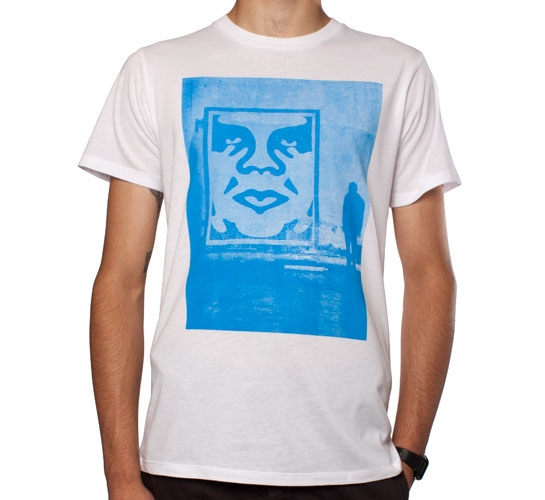 Obey In The Shadows T-Shirt (White)