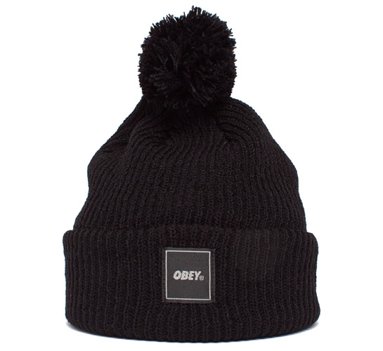 Obey Late For Class Beanie (Black)