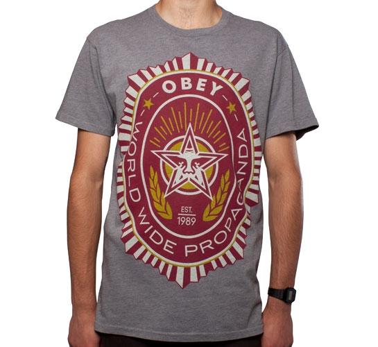 Obey Legion T-Shirt (Heather Grey)