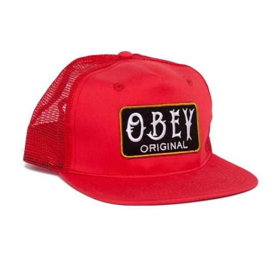 Obey Local Brew Trucker Cap (Red)