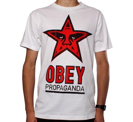 Obey OG Star T-Shirt (White)