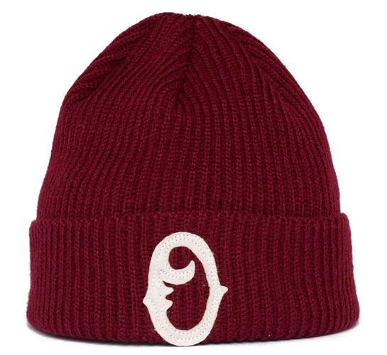 Obey Old Timers Beanie (Burgundy)