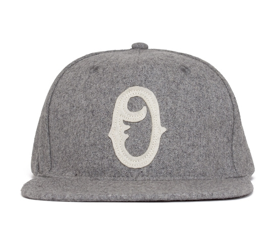 Obey Old Timers Snapback Cap (Heather Grey)