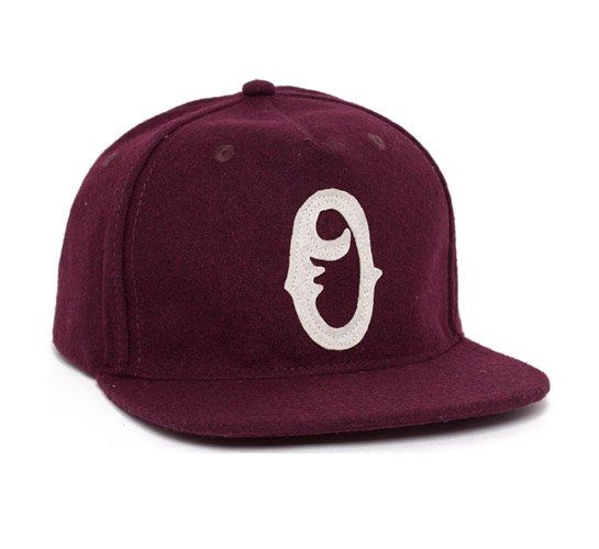 Obey Old Timers Snapback Cap (Burgundy)