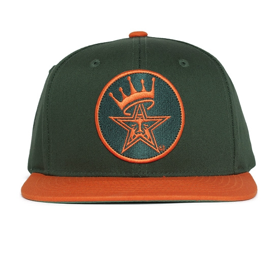 Obey Ordained Snapback Cap (Green/Orange)