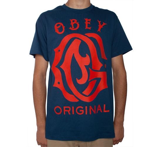 Obey Original T-Shirt (Patrol Blue)