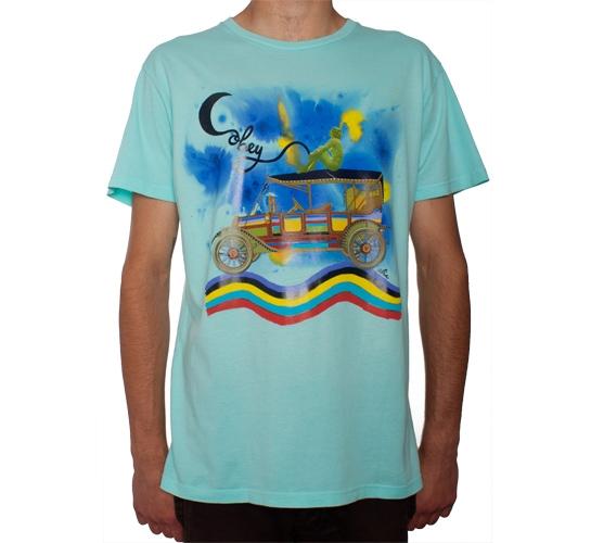 Obey Road Trip T-Shirt (Beach Glass)