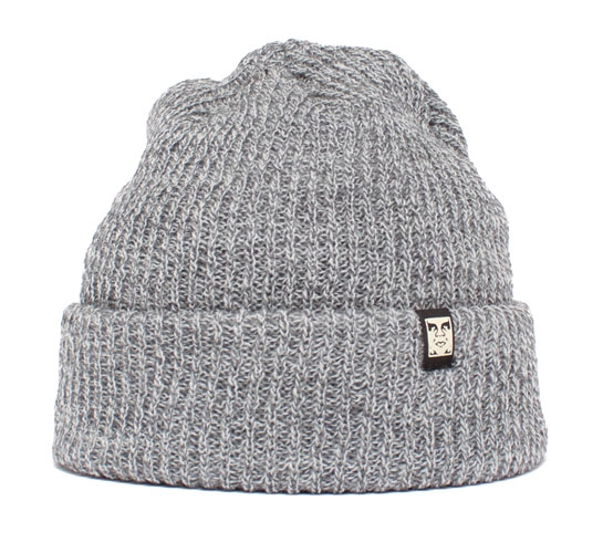 Obey Ruger Beanie (Heather Grey)