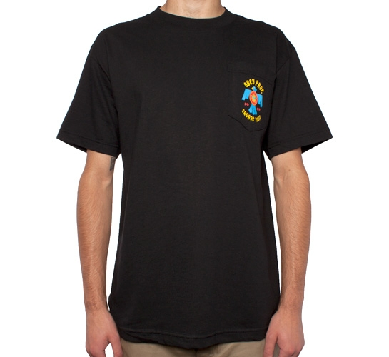 Obey Savage Posse Pocket T-Shirt (Black)