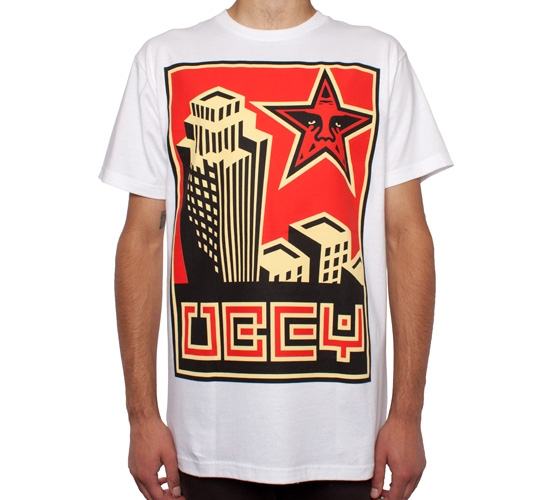 Obey Skyline T-Shirt (White)