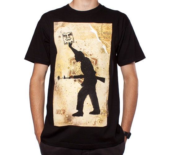 Obey Sol T-Shirt (Black)