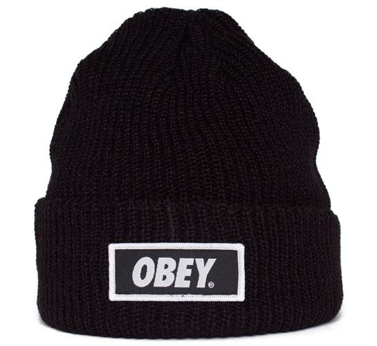Obey Standard Issue Beanie (Black)