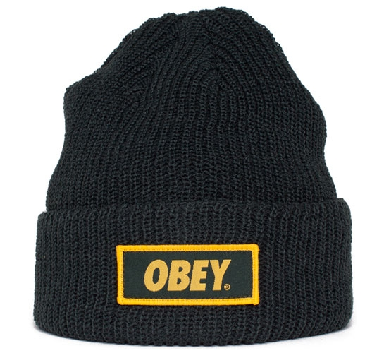 Obey Standard Issue Beanie (Forest Green)